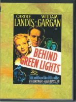 Behind Green Lights (1946) Front Cover DVD