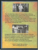 Charlie Chan Double Feature Volume One Back Cover DVD