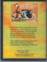 Kansas City Confidential (1952) Back Cover DVD