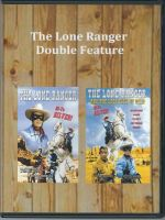 Lone Ranger Double Feature Front Cover DVD