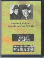 Sherlock Holmes Double Feature Volume One 2-Disc Set DVD On Demand