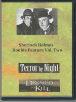 Sherlock Holmes Double Feature Volume Two Front Cover DVD