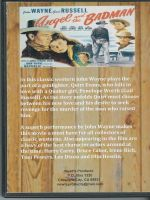 Angel and The Badman (1947) Back Cover DVD