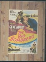 The Big Sombrero (1949) Front Cover DVD