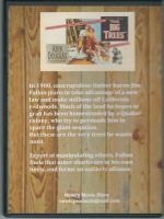 The Big Trees (1952) Back Cover DVD