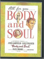Body and Soul (1947) Front Cover DVD