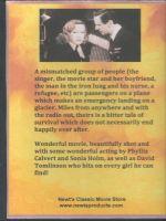 Broken Journey (1948) Back Cover DVD