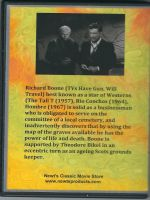I Bury The Living (1958) Back Cover DVD