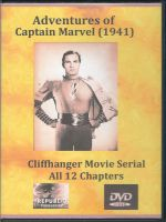 At Adventures of Captain Marvel (1941) Front Cover DVD