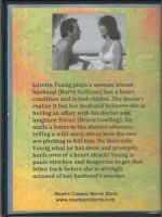 Cause For Alarm (1951) Back Cover DVD
