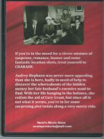 Charade (1963) Back Cover DVD