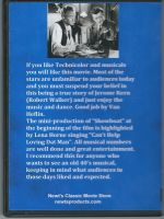 Till The Clouds Roll By (1946) Back Cover DVD