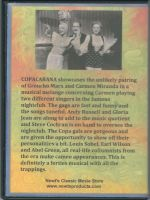 Copacabana (1947) Back Cover DVD