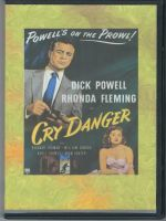 Cry Danger (1951) Front Cover DVD