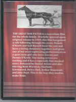 The Great Dan Patch (1949) Back Cover DVD