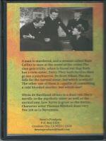 The Dark Mirror (1946) Back Cover DVD