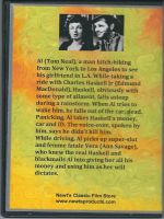 Detour (1945) Back Cover DVD