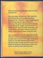 Ed Wood Jr. Double Feature Back Cover DVD