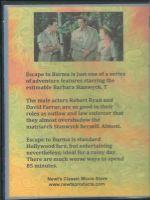 Escape To Burma (1955) Back Cover DVD