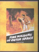Fire Maidens of Outer Space (1956) Front Cover DVD