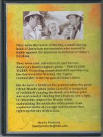 Flying Tigers (1942) Back Cover DVD