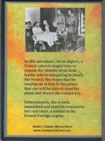 Fort Algiers (1953) Back Cover DVD