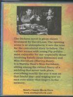 Great Expectations (1946) Back Cover DVD