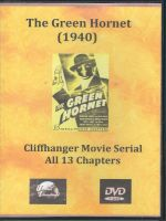 The Green Hornet (1940) Front Cover DVD