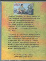 Gulliver's Travels (1939) Back Cover DVD