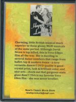 Happy Go Lovely (1951) Back Cover DVD