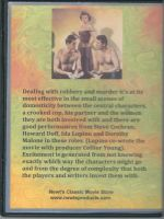 Private Hell 36 (1954) Back Cover DVD