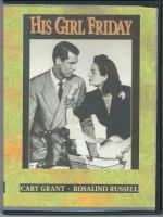 His Girl Friday (1940) Front Cover DVD