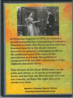 An Ideal Husband (1947) Back Cover DVD