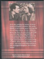 Love On The Dole (1941) Back Cover DVD