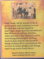 Love Laughs At Andy Hardy (1946) Back Cover DVD