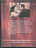 Night Train to Munich (1940) Back Cover DVD