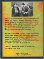 Penny Serenade (1941) Back Cover DVD