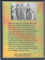 Road To Bali (1952) Back Cover DVD