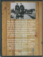 Santa Fe Trail (1940) Back Cover DVD