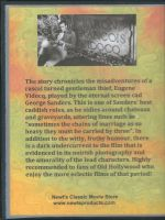 A Scandal In Paris (1946) Back Cover DVD