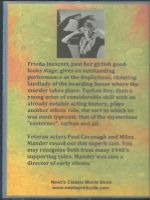 Shadows On The Stairs (1941) Back Cover DVD