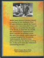 Shock (1946) Back Cover DVD
