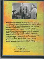 The Strange Love of Martha Ivers (1946) Back Cover DVD