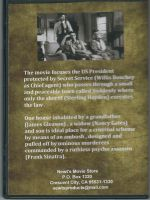 Suddenly (1954) Back Cover DVD