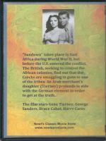 Sundown (1941) Back Cover DVD