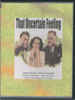 That Uncertain Feeling (1941) Front Cover DVD