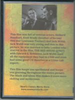 He Walked By Night (1948) Back Cover DVD