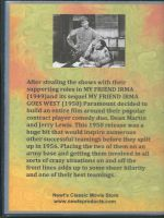 At War With The Army (1950) Back Cover DVD